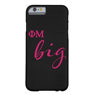 Phi Mu Big Script Barely There iPhone 6 Case