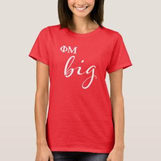 Phi Mu Big Script T-Shirt