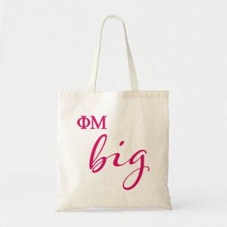 Phi Mu Big Script Tote Bag