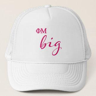 Phi Mu Big Script Trucker Hat