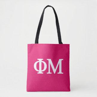 Phi Mu Lil Big Logo Tote Bag