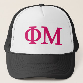 Phi Mu Lil Big Logo Trucker Hat