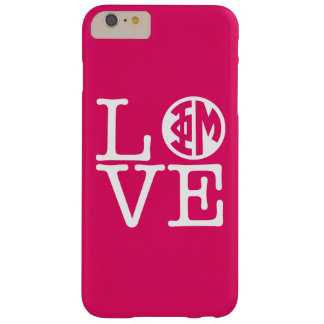 Phi Mu Love Barely There iPhone 6 Plus Case