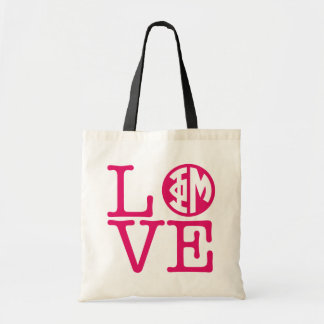 Phi Mu Love Tote Bag