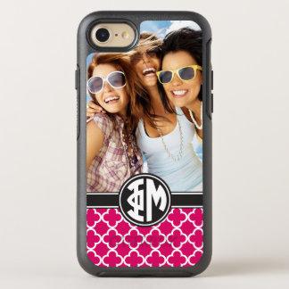 Phi Mu | Monogram and Photo OtterBox Symmetry iPhone 8/7 Case
