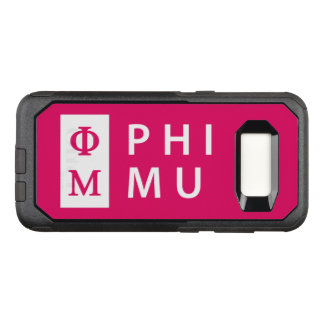 Phi Mu Stacked OtterBox Commuter Samsung Galaxy S8 Case