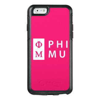 Phi Mu Stacked OtterBox iPhone 6/6s Case