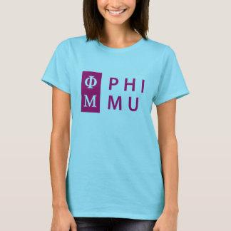 Phi Mu Stacked T-Shirt