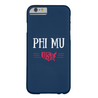 Phi Mu - USA Barely There iPhone 6 Case