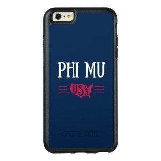 Phi Mu - USA OtterBox iPhone 6/6s Plus Case