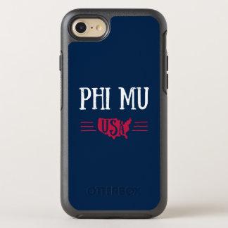 Phi Mu - USA OtterBox Symmetry iPhone 8/7 Case