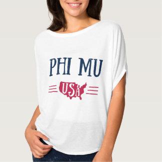 Phi Mu - USA T-Shirt