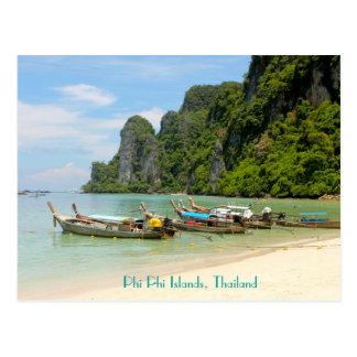 Phi Phi Islands, Thailand Postcard