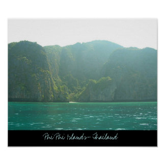 Phi Phi Islands- Thailand  Poster