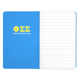 Phi Sigma Sigma Yellow Letters Journal