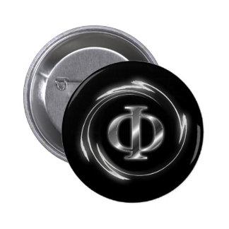 Phi symbol pins