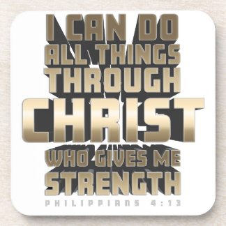 Phil4:13 I can do All things through Christ Coaster