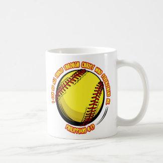 PHIL.413 - SOFTBALL COFFEE MUG