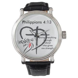 Phil 4:13 Men's Watch