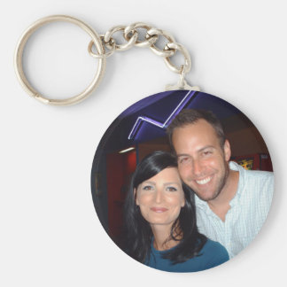 Phil and Jess Key Ring