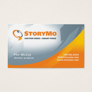 Phil McCoy Standard Business Card