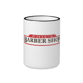 Phil s Barber Shop Coffee Mugs