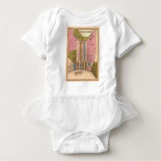 Philadelphia 1838 baby bodysuit