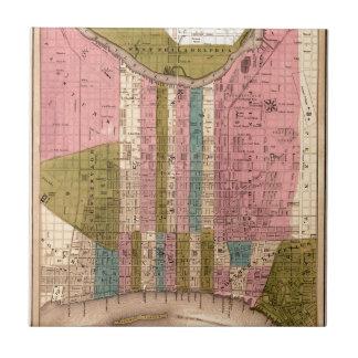 Philadelphia 1838 ceramic tile
