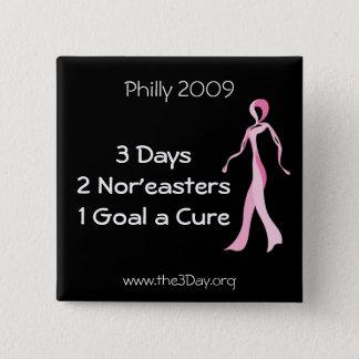 Philadelphia 2009 3 Day Button