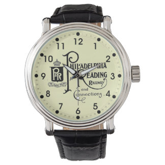 Philadelphia and Reading Railroad Logo Watch