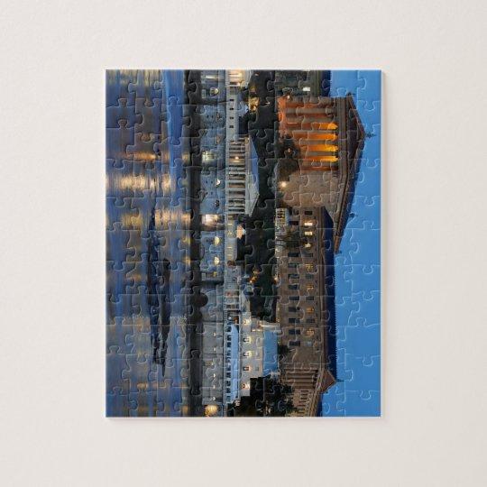 Philadelphia Art Museum and Fairmount Water Works Jigsaw Puzzle
