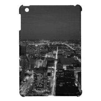 Philadelphia Black And White Skyline iPad Mini Cover