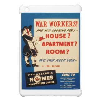 Philadelphia can Help War Workers Find Housing iPad Mini Case