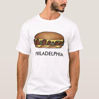 Philadelphia Cheese Steak Philly Cheesesteak Food T-Shirt