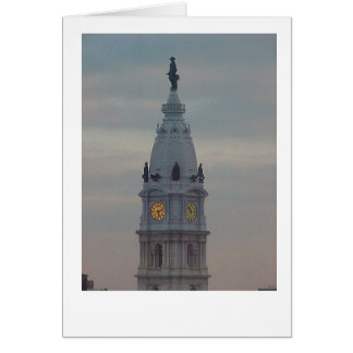 Philadelphia City Hall Card