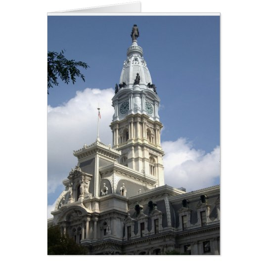 Philadelphia City Hall note card