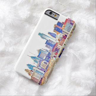 Philadelphia Color Sketch iPhone 6 Case
