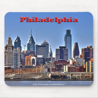"Philadelphia ""HDR""Skyline Mousepad"