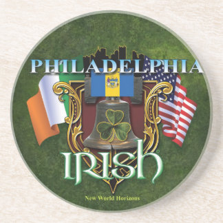 Philadelphia Irish Pride Coaster