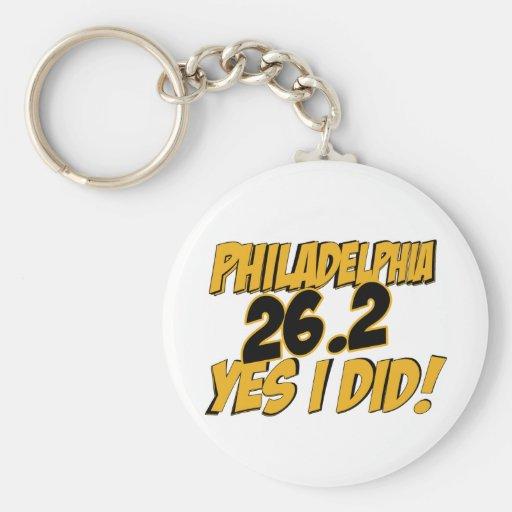 Philadelphia Marathon Key Chains