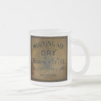 Philadelphia Morning Sip Vintage Sign Coffee Mug