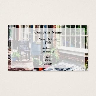 Philadelphia Pa Coffeehouse Business Card
