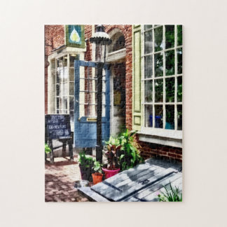 Philadelphia Pa Coffeehouse Jigsaw Puzzle