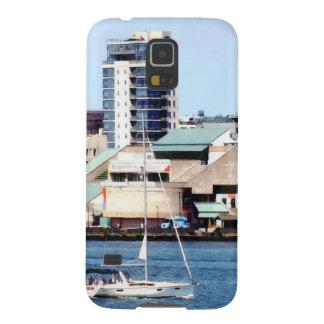 Philadelphia PA - Sailboat by Penn's Landing Galaxy S5 Covers