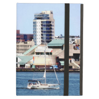 Philadelphia PA - Sailboat by Penn's Landing iPad Air Cover