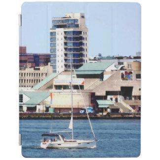 Philadelphia PA - Sailboat by Penn's Landing iPad Cover