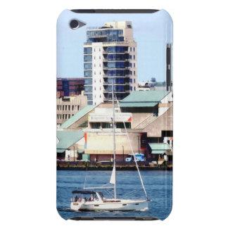 Philadelphia PA - Sailboat by Penn's Landing iPod Case-Mate Case
