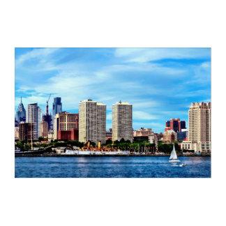 Philadelphia Pa Skyline Acrylic Print