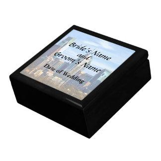Philadelphia Pa Skyline II Wedding Products Gift Box