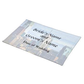 Philadelphia Pa Skyline II Wedding Products Placemat